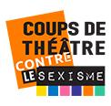 Logo coup de théâtre contre le sexisme petite taille