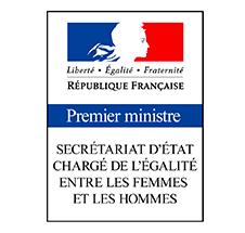 Logo Secretariat Etat Charge Egalite Femmes Hommes